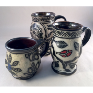 Raine Middleton Pottery Wooden Stone Gallery